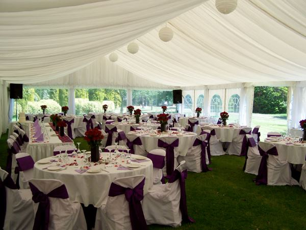 marquee for weddings and events